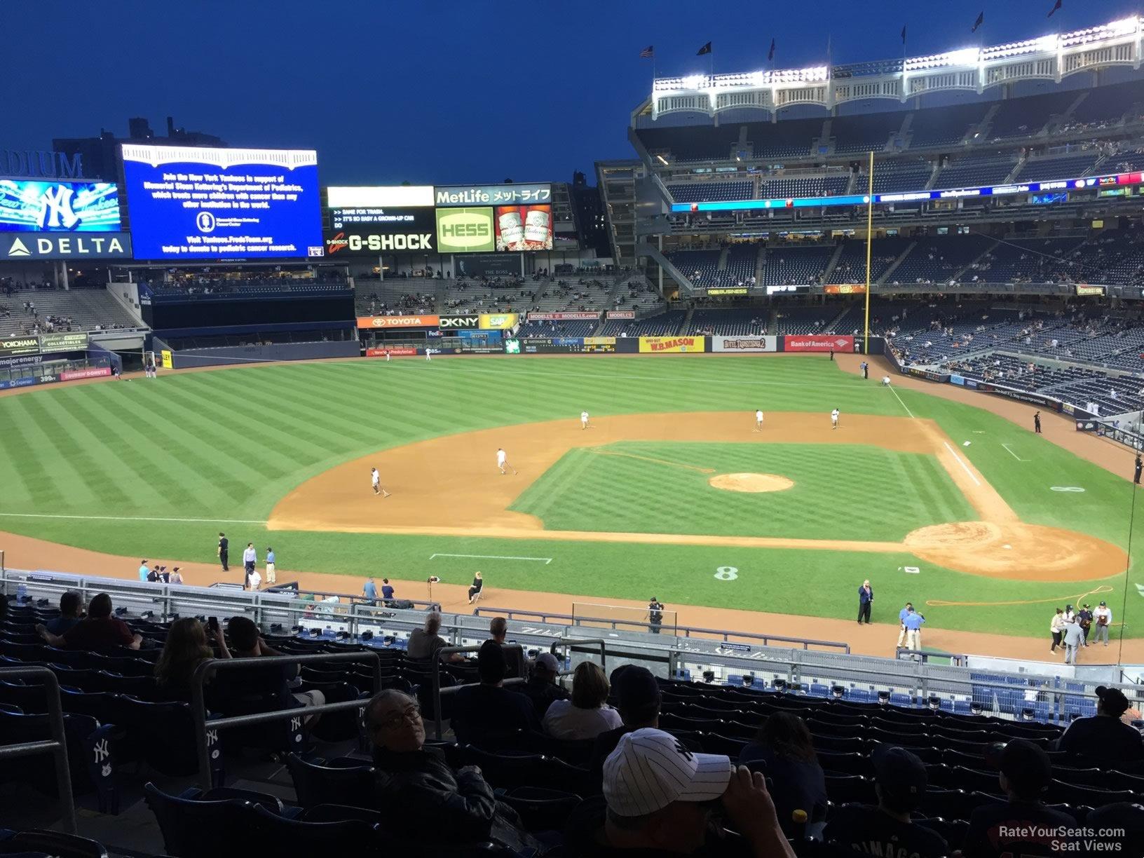 New York Yankees Seat View for Yankee Stadium Section 223