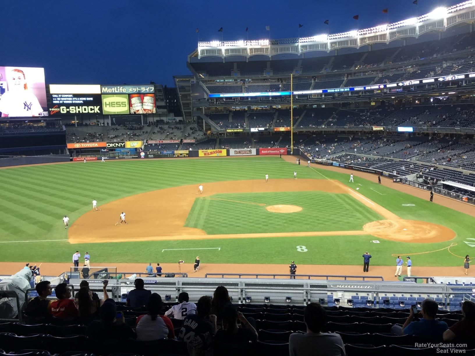 New York Yankees Seat View for Yankee Stadium Section 224