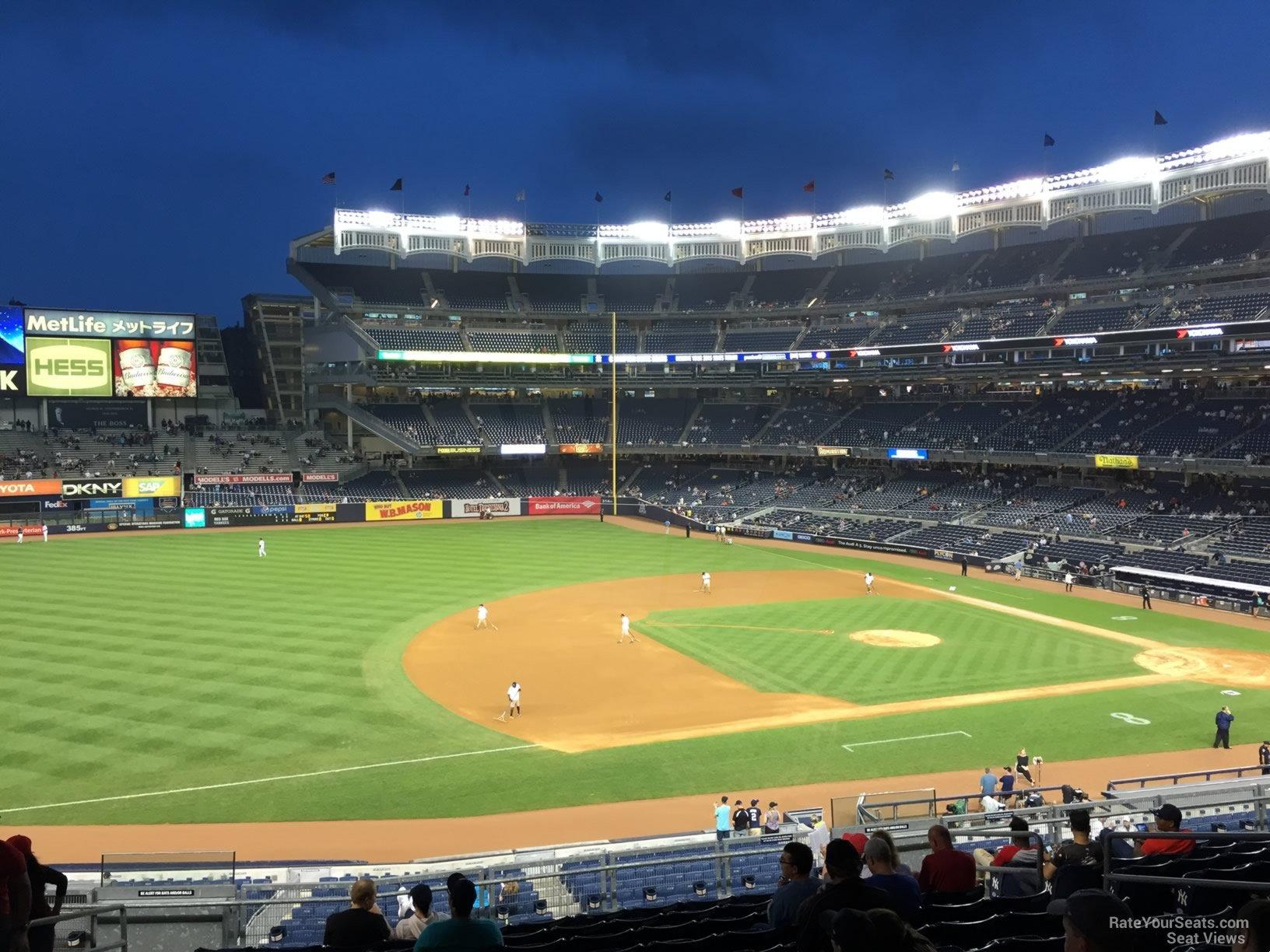 Yankee Stadium Section 227A - New York Yankees - RateYourSeats.com