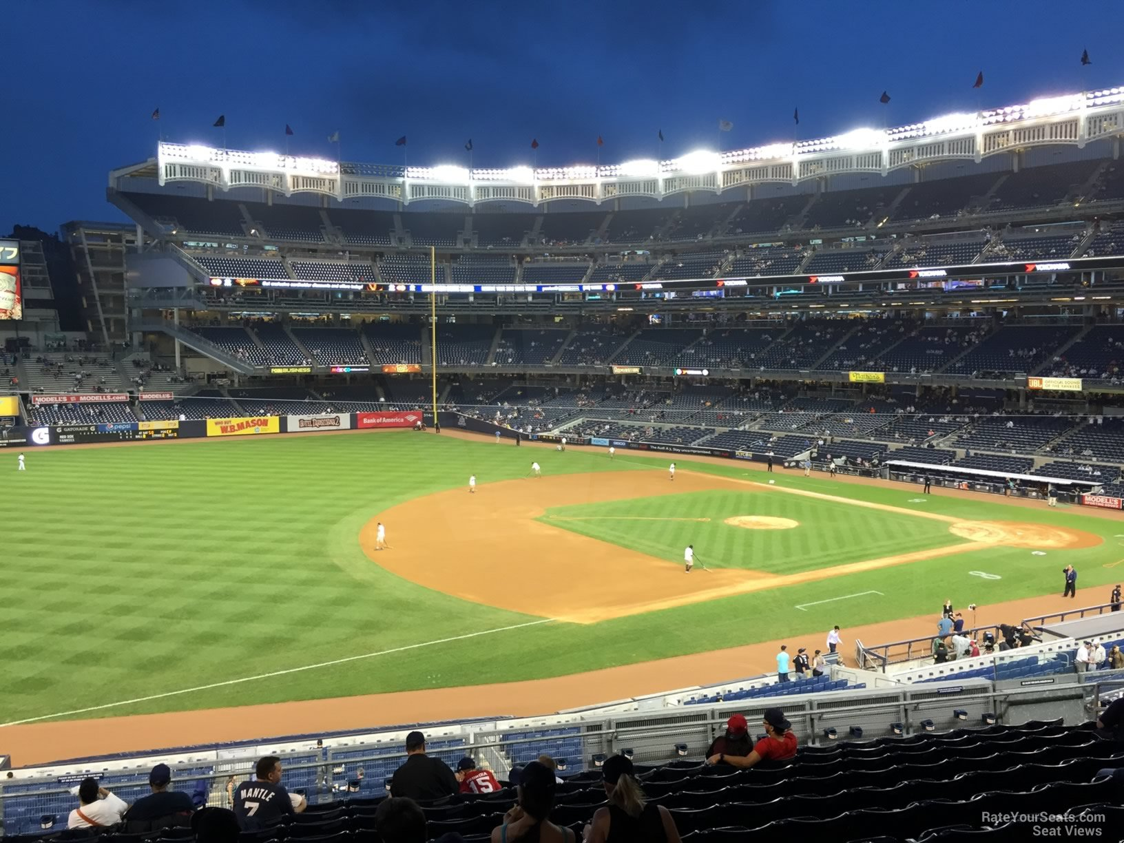 New York Yankees Seat View for Yankee Stadium Section 227B, Row 13