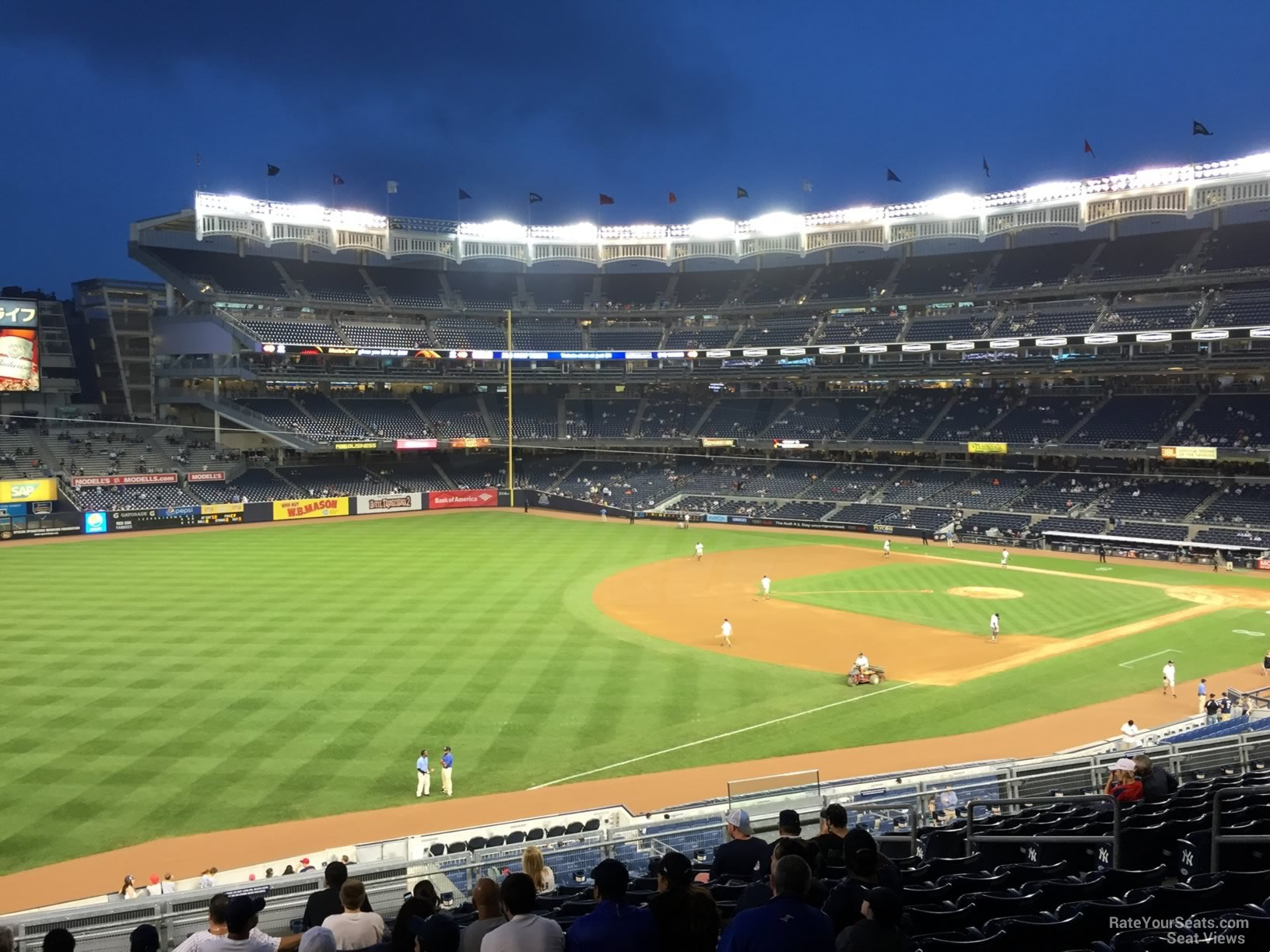 New York Yankees Seat View for Yankee Stadium Section 229, Row 13
