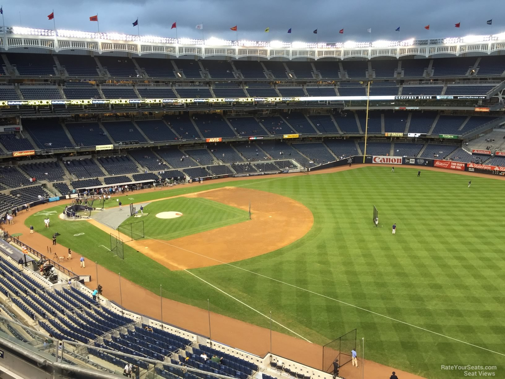 New York Yankees Seat View for Yankee Stadium Section 310, Row 6