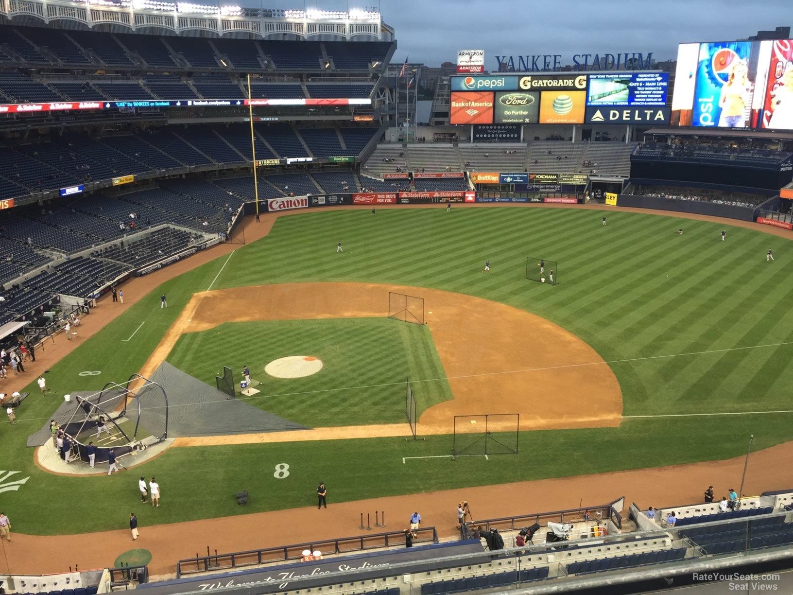 Yankee Stadium Section 316 - New York Yankees - RateYourSeats.com