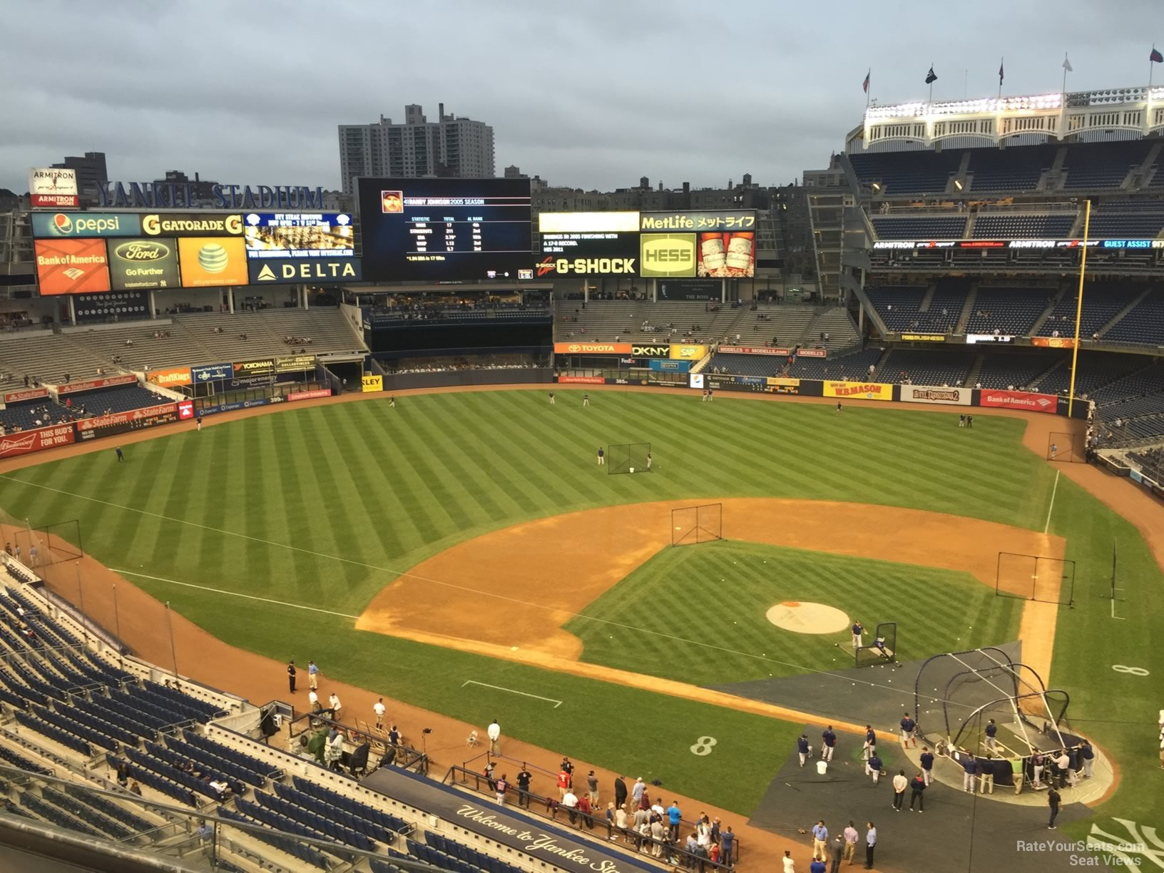 New York Yankees Seat View for Yankee Stadium Section 322, Row 6