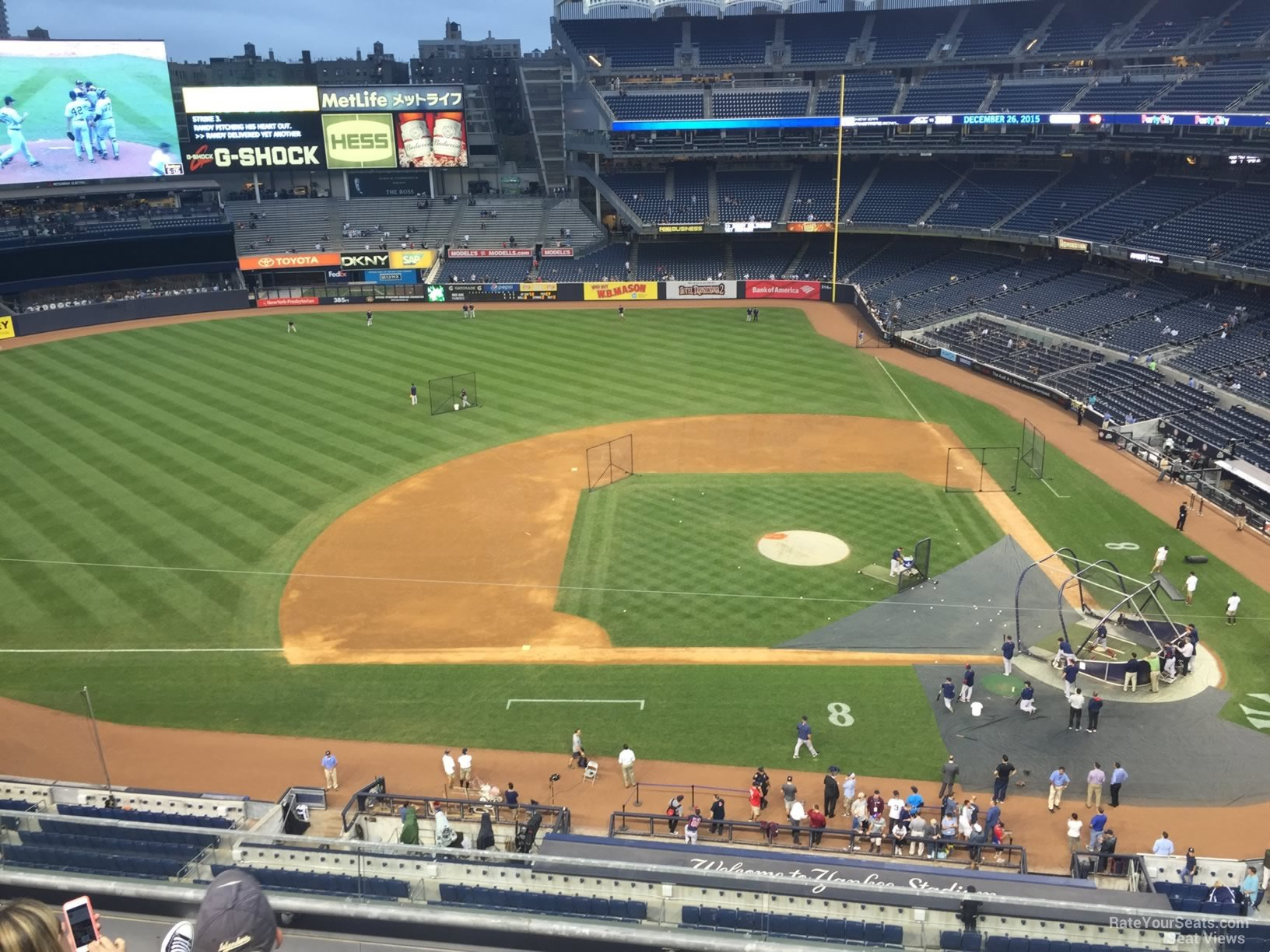 Yankee Stadium Section 324 - New York Yankees - RateYourSeats.com