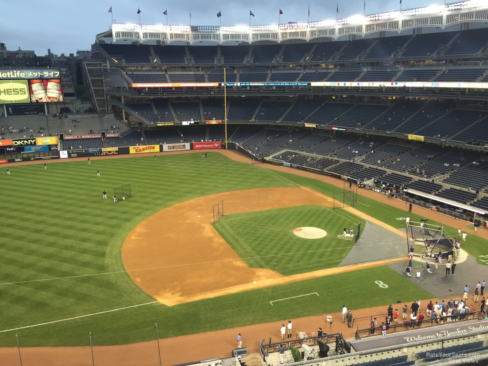 New York Yankees Seat View for Yankee Stadium Section 326, Row 6