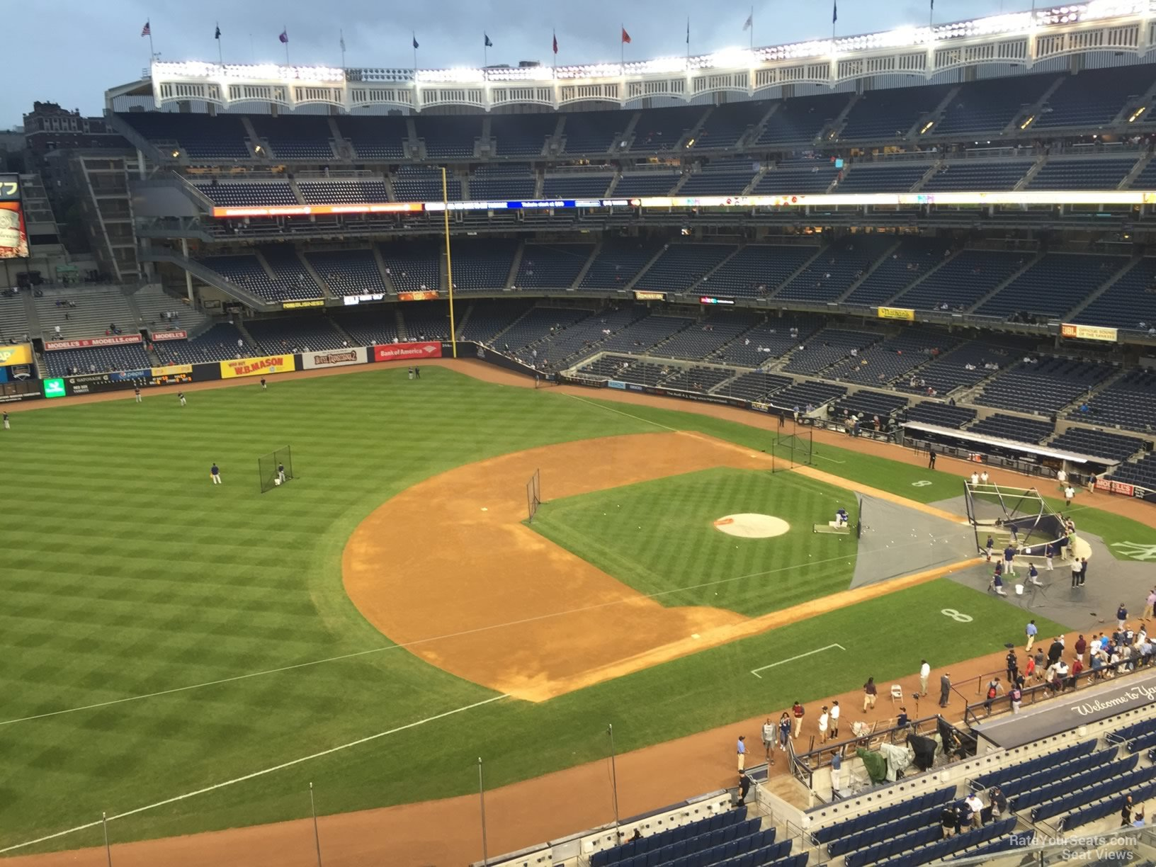 New York Yankees Seat View for Yankee Stadium Section 327, Row 6