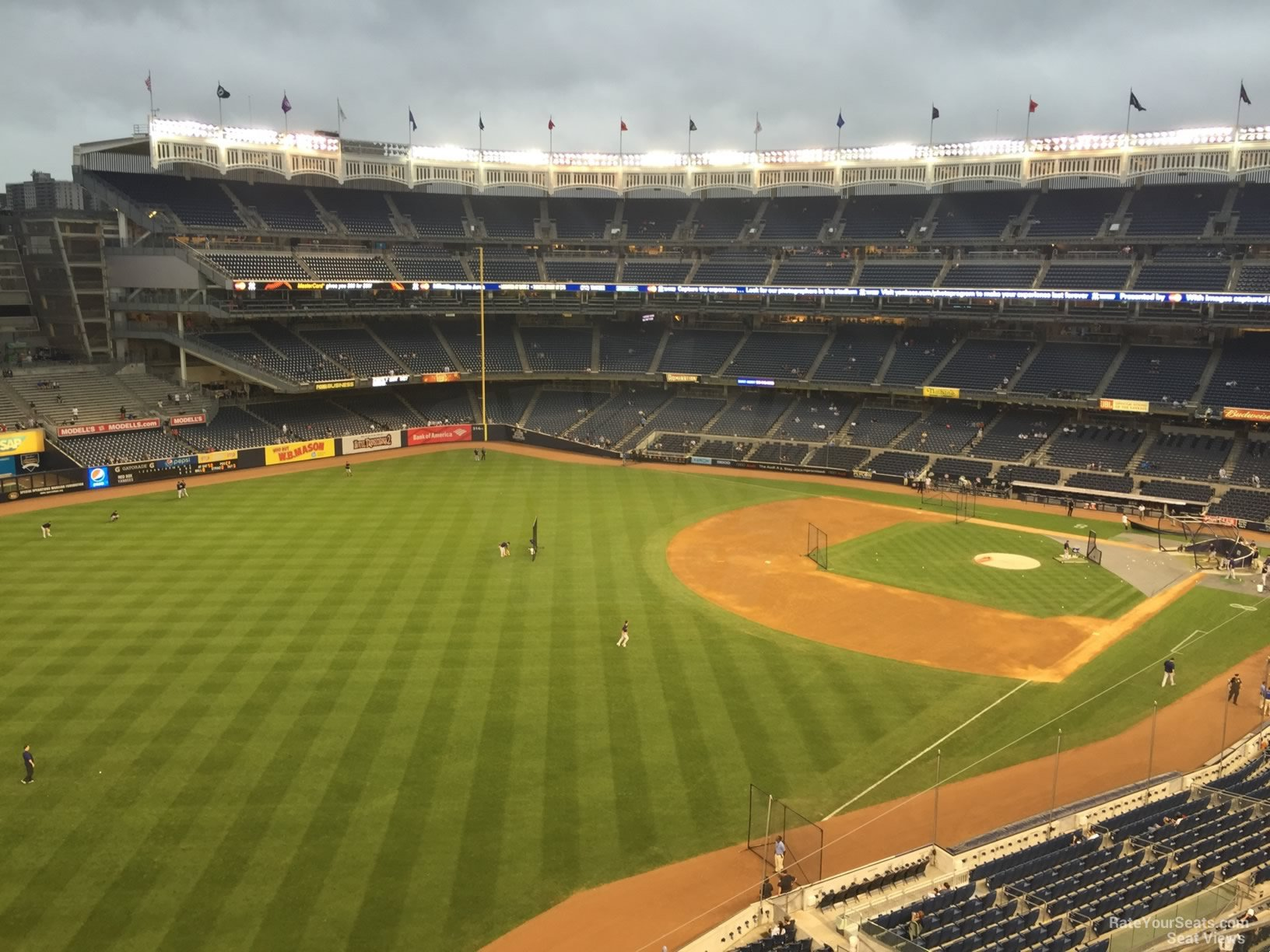 New York Yankees Seat View for Yankee Stadium Section 331, Row 6