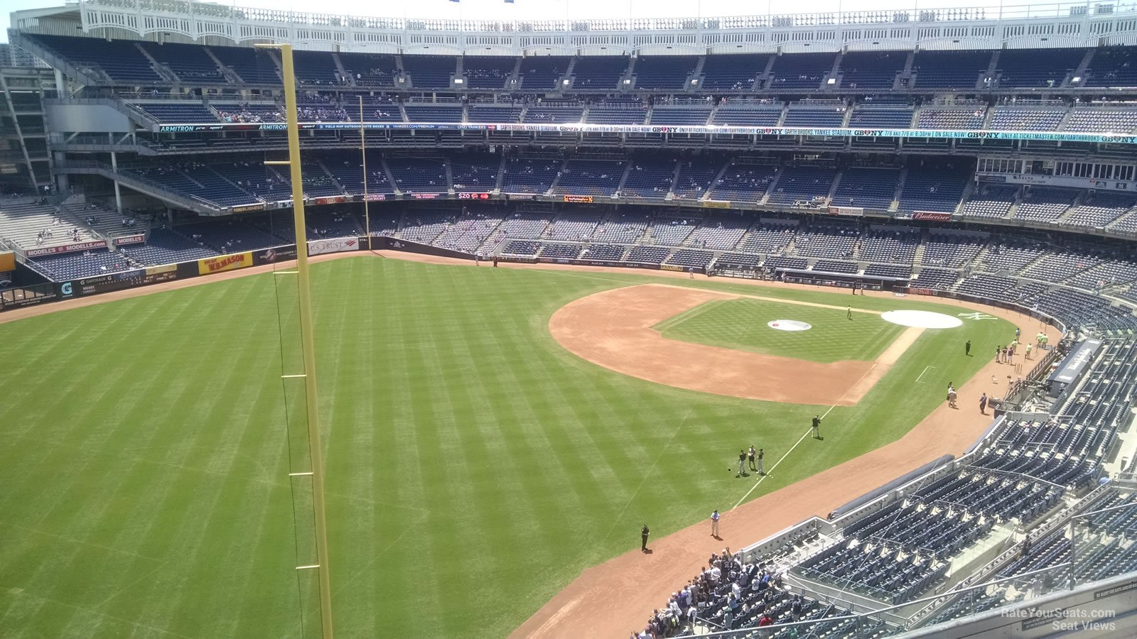 New York Yankees Seat View for Yankee Stadium Section 332A, Row 6