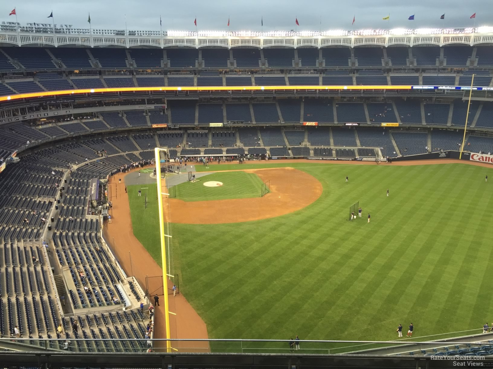New York Yankees Seat View for Yankee Stadium Section 407A, Row 6