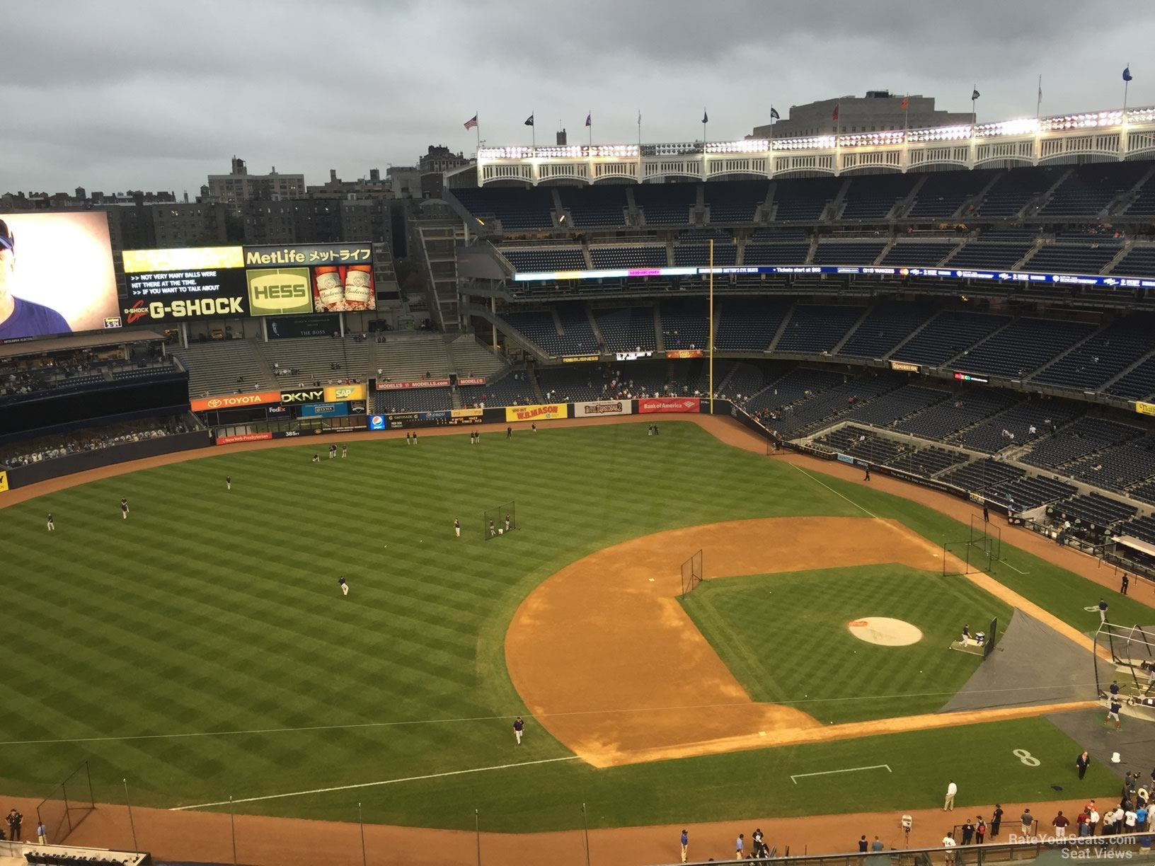 New York Yankees Seat View for Yankee Stadium Section 425, Row 6