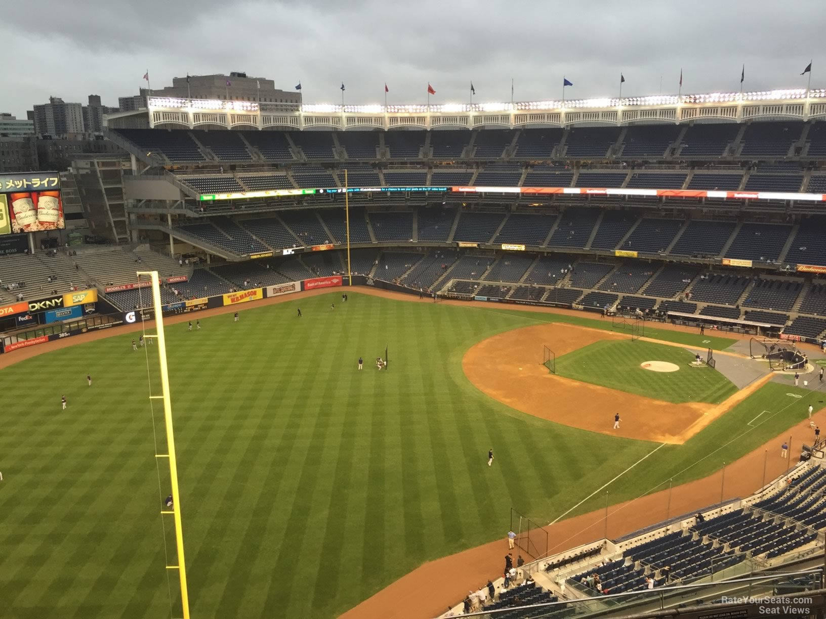 New York Yankees Seat View for Yankee Stadium Section 431A, Row 6