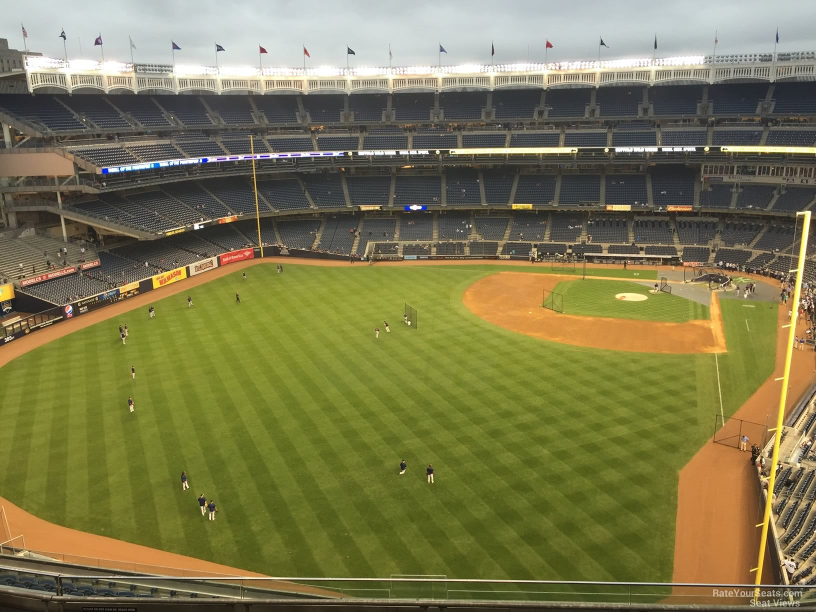 New York Yankees Seat View for Yankee Stadium Section 433, Row 6