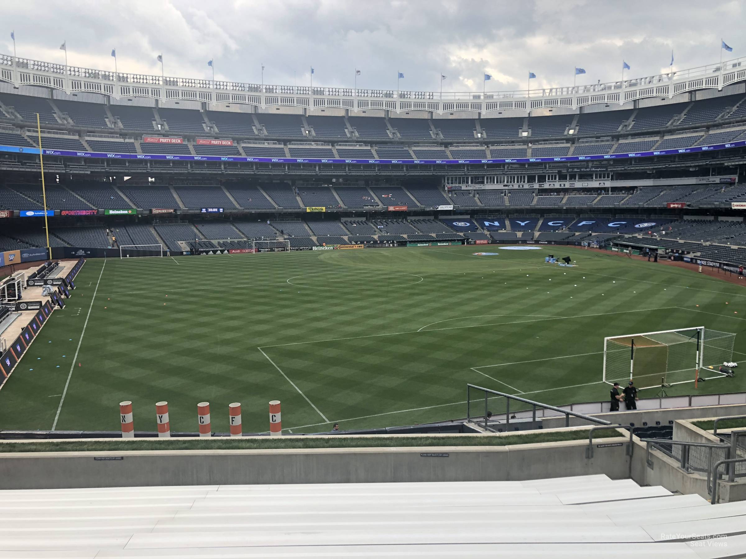 Soccer Seat View for Yankee Stadium Section 237, Row 15