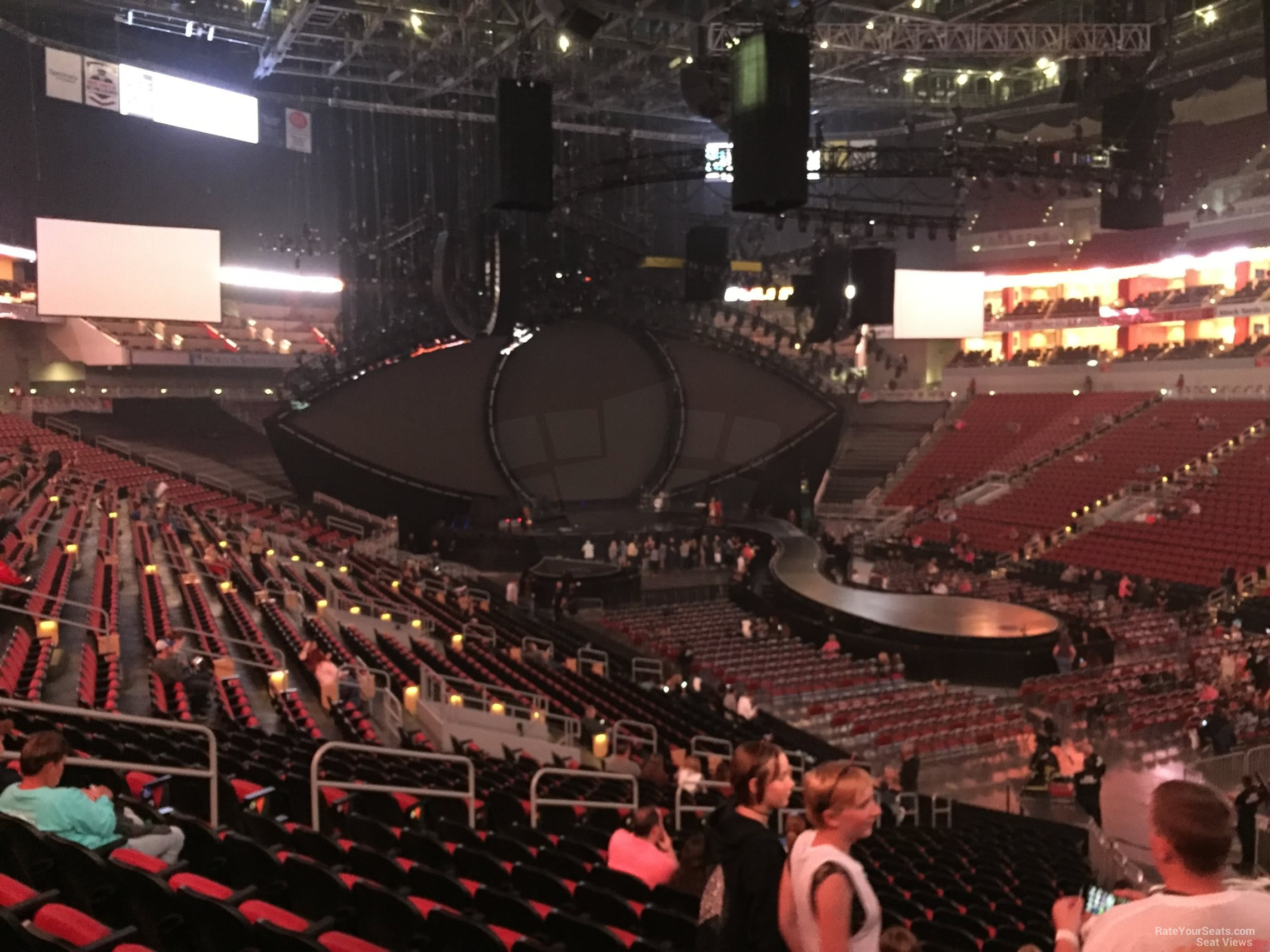 Kfc Yum Center Section 113 Concert Seating