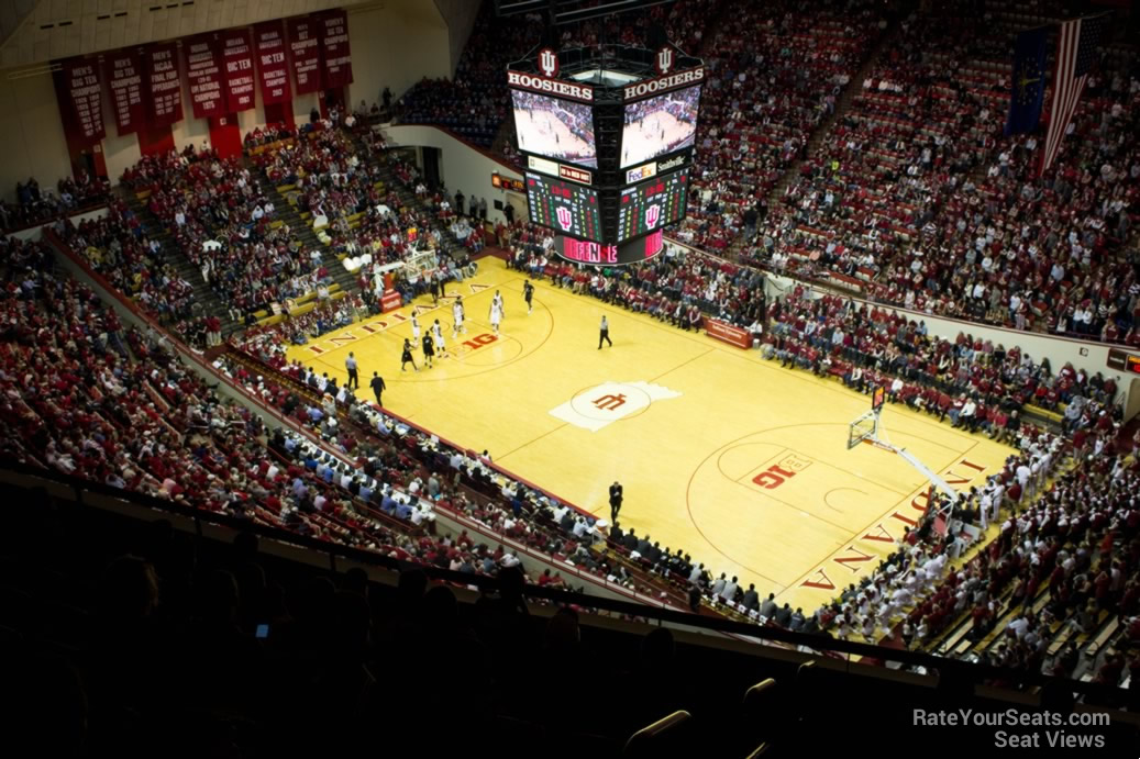 Seat View for Assembly Hall Section AA