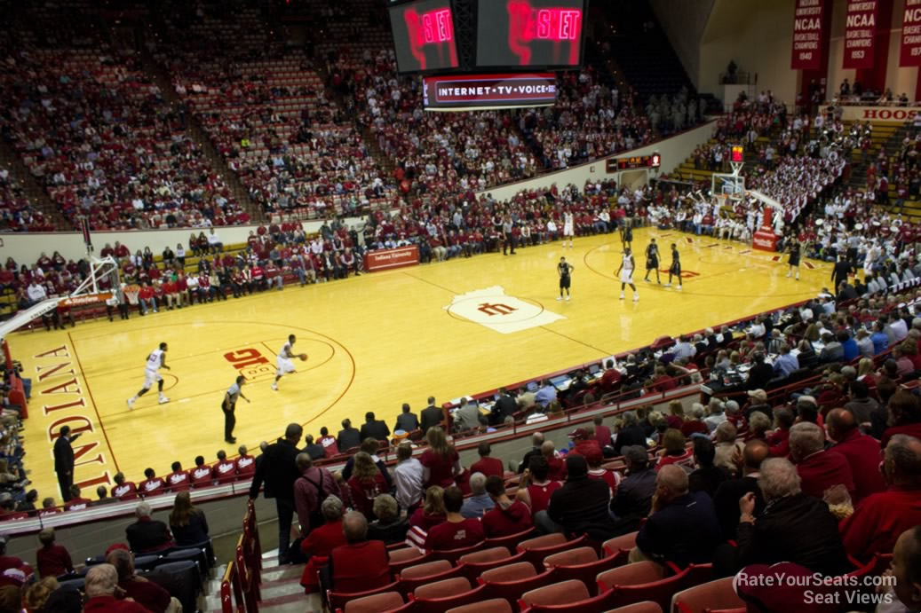 Seat View for Assembly Hall Section E