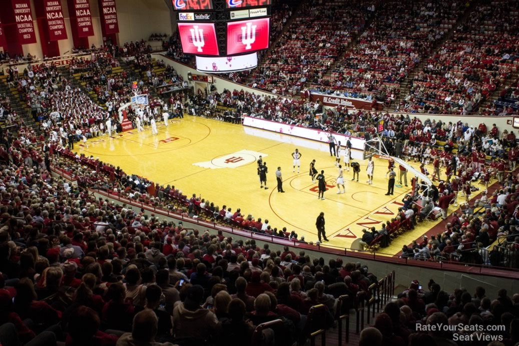 Seat View for Assembly Hall Section G