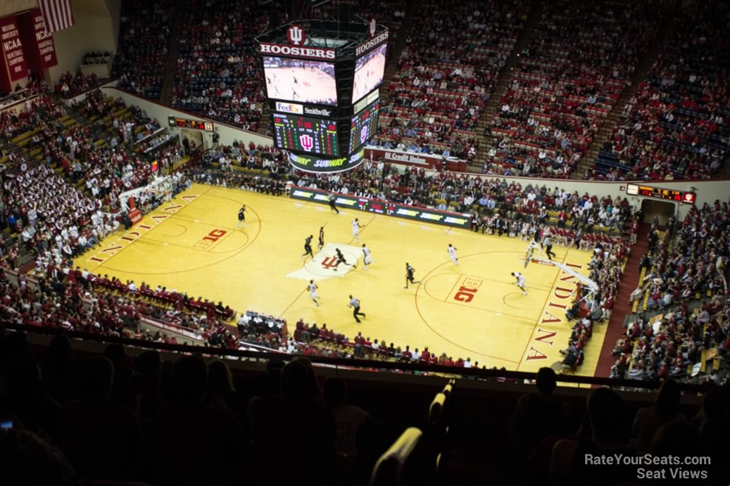 Seat View for Assembly Hall Section HH