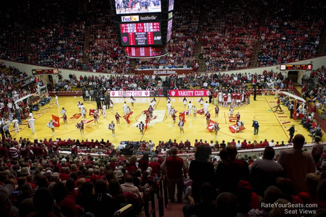 Seat View for Assembly Hall Section J