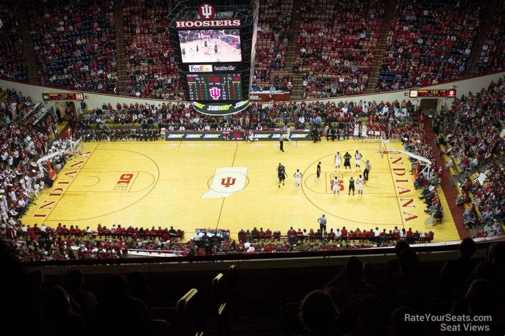 Seat View for Assembly Hall Section JJ