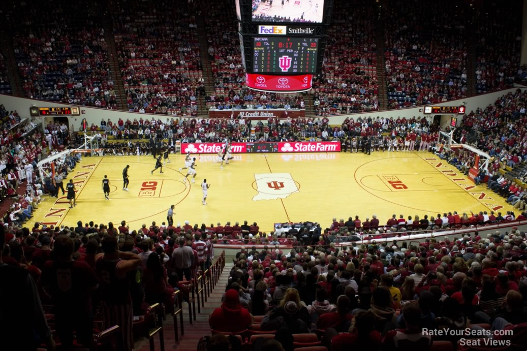 Seat View for Assembly Hall Section K