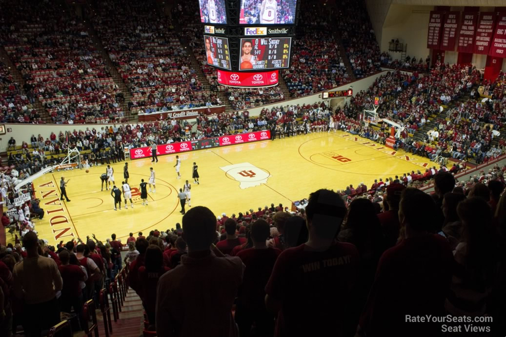 Seat View for Assembly Hall Section L