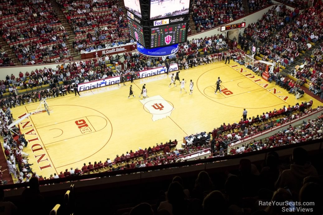 Seat View for Assembly Hall Section LL