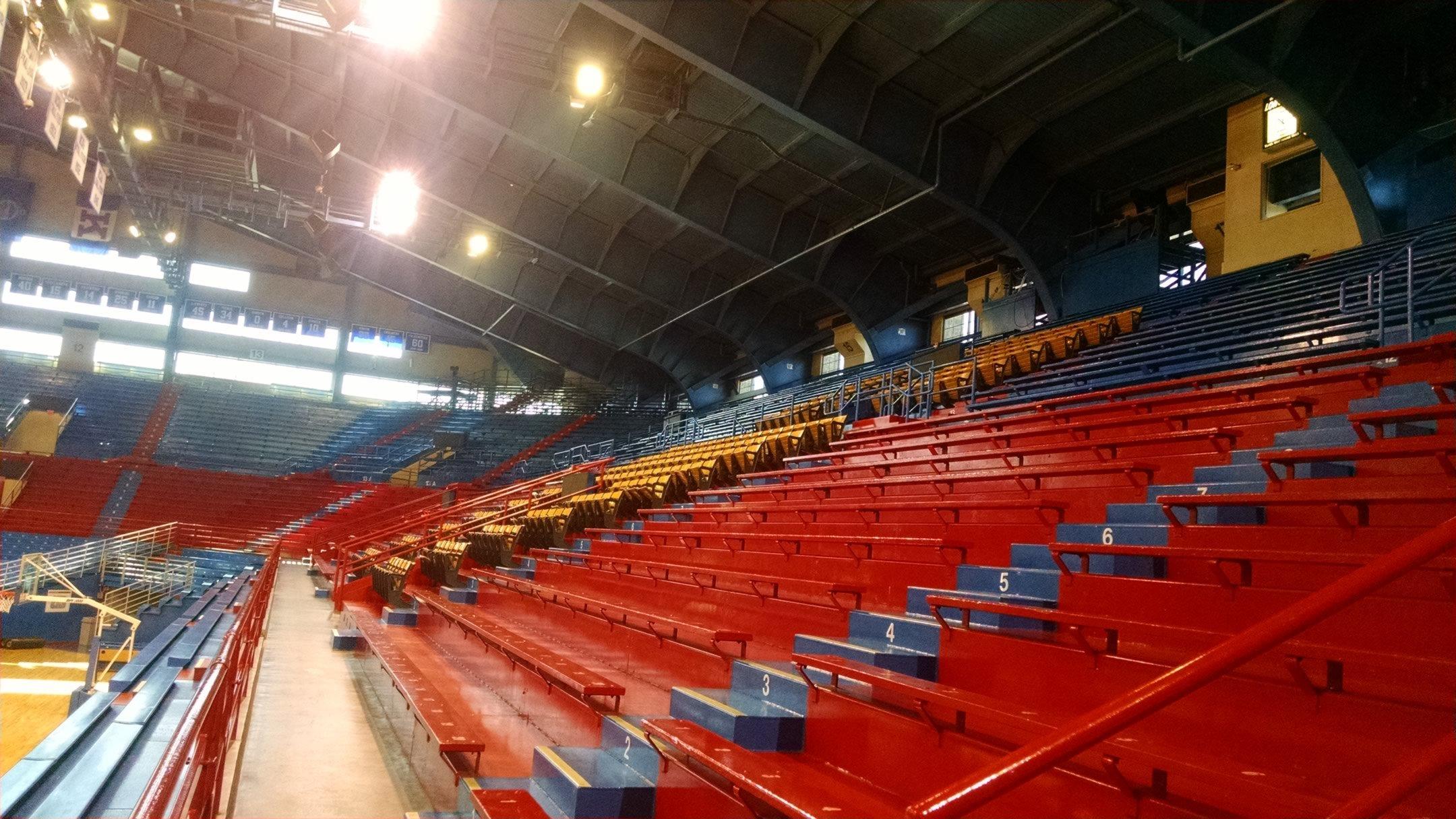 Allen fieldhouse kansas seating guide rateyourseats com