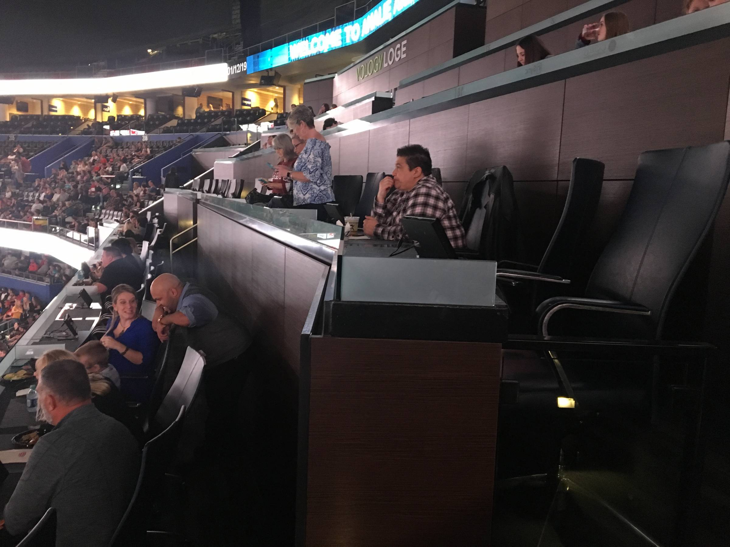 Vology Loge at Amalie Arena