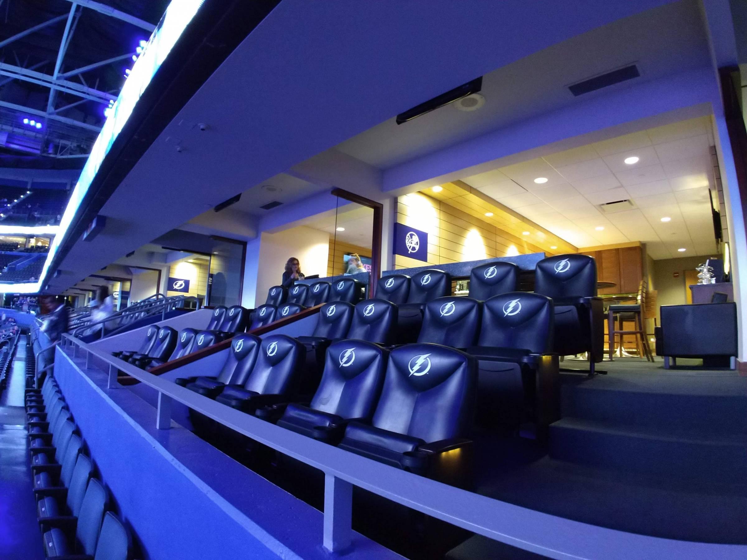 Tampa Bay Lightning Seating Guide Amalie Arena