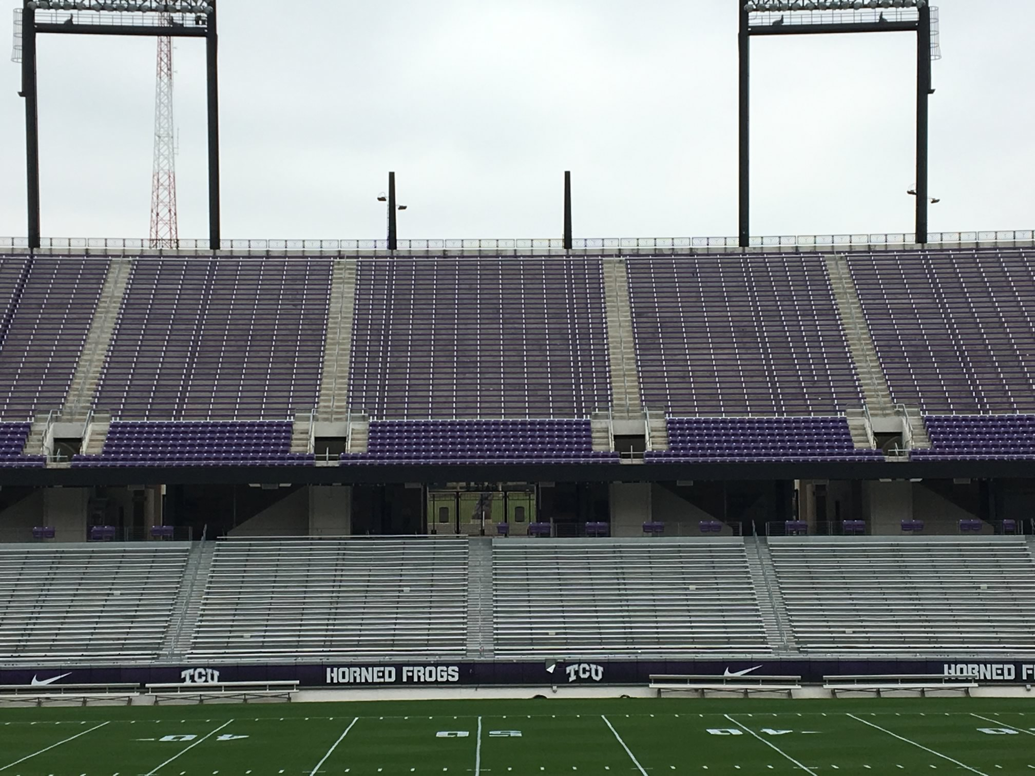 Midfield 200 Level Chairback Seats at Amon Carter Stadium