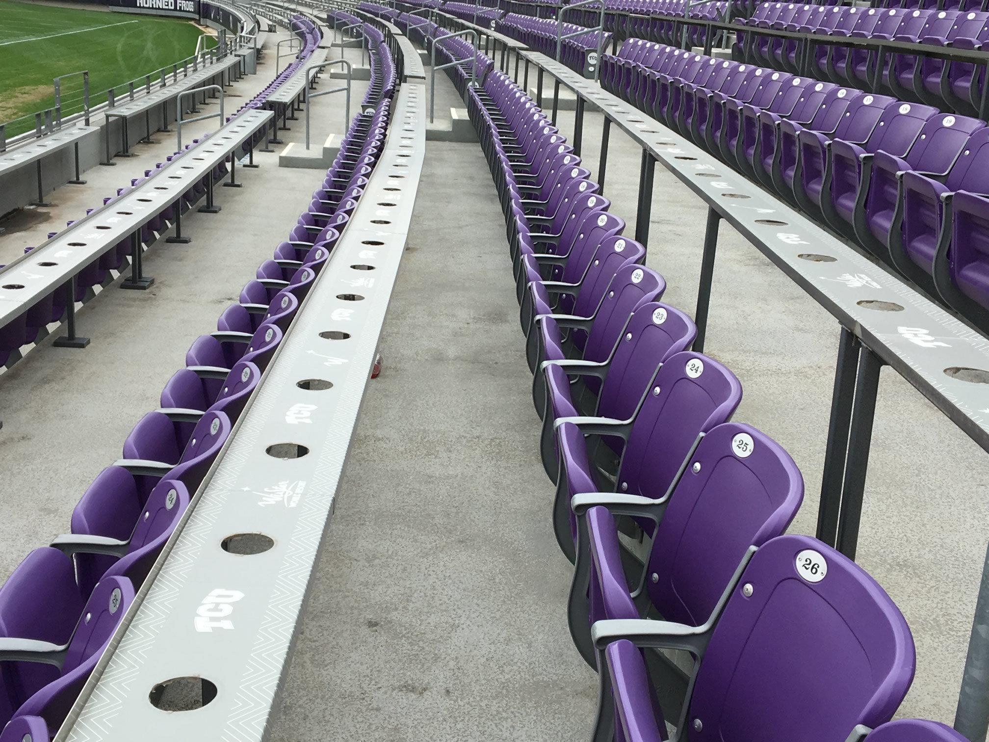 Luxury Loge Seats at Amon Carter Stadium