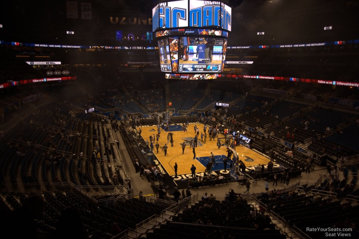 Seat View for Amway Center Section 111A, Row 30