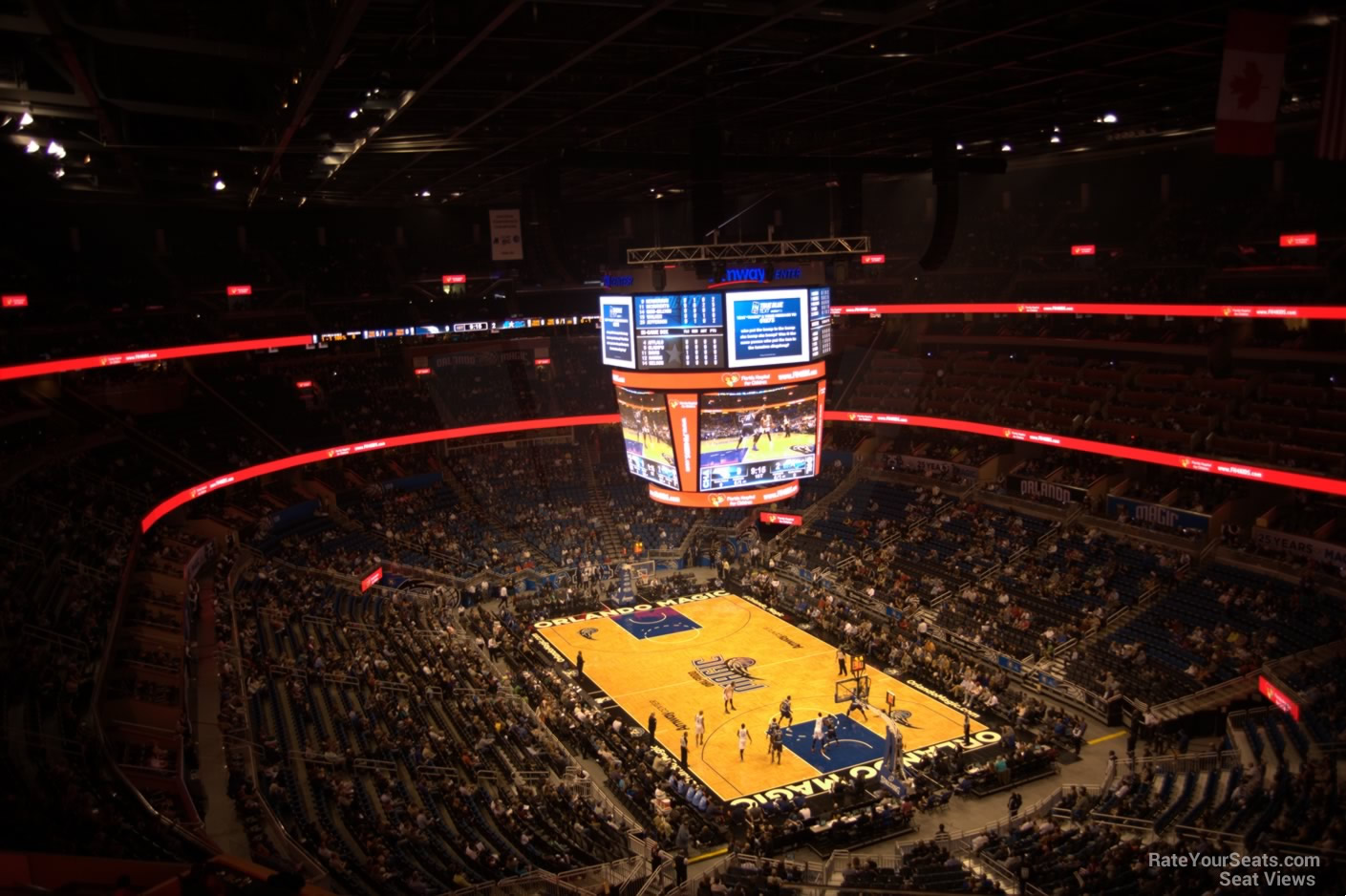 Seat View for Amway Center Section 204