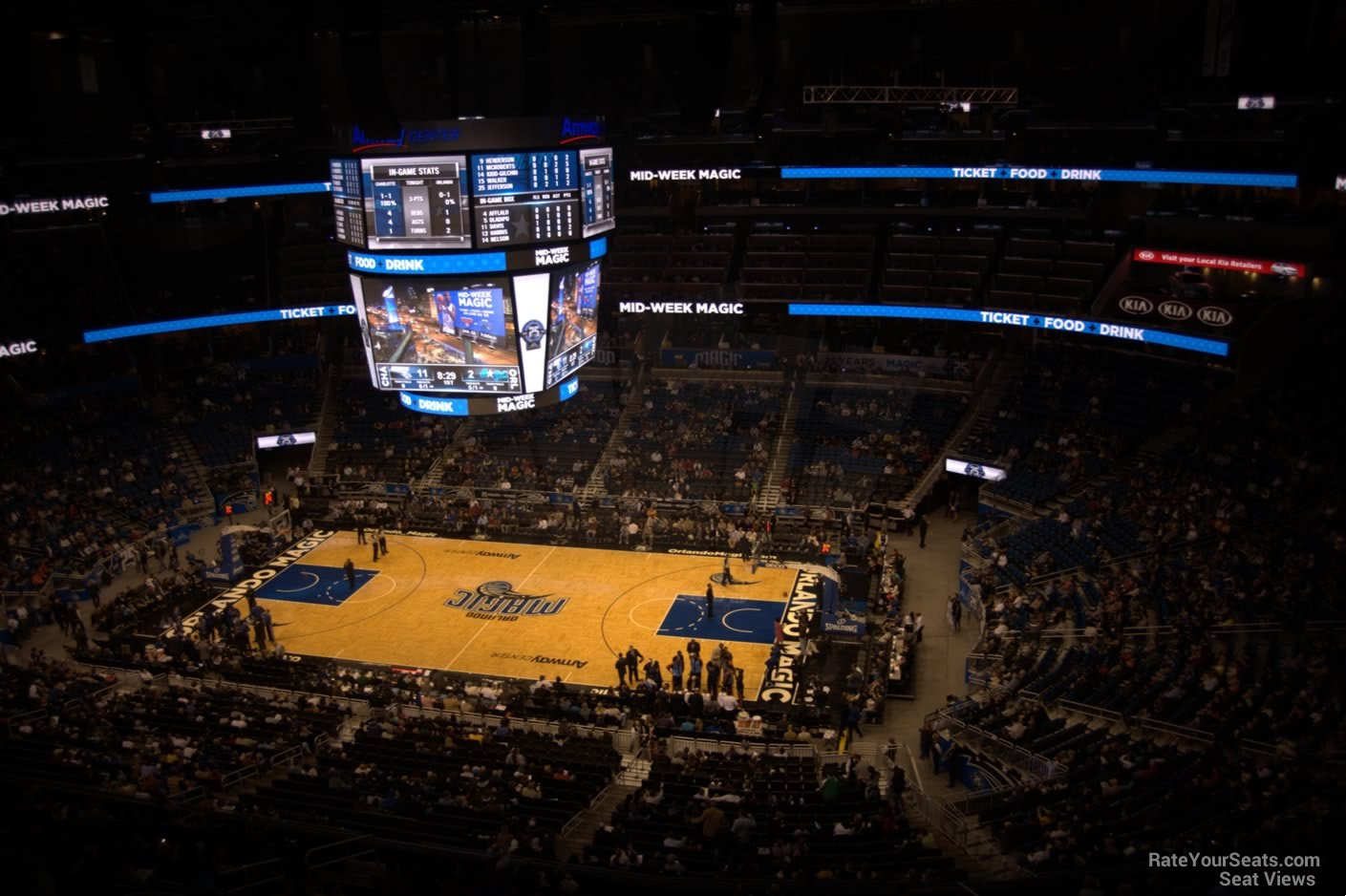 Seat View for Amway Center Section 207