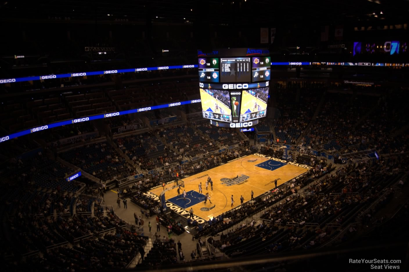 Seat View for Amway Center Section 213