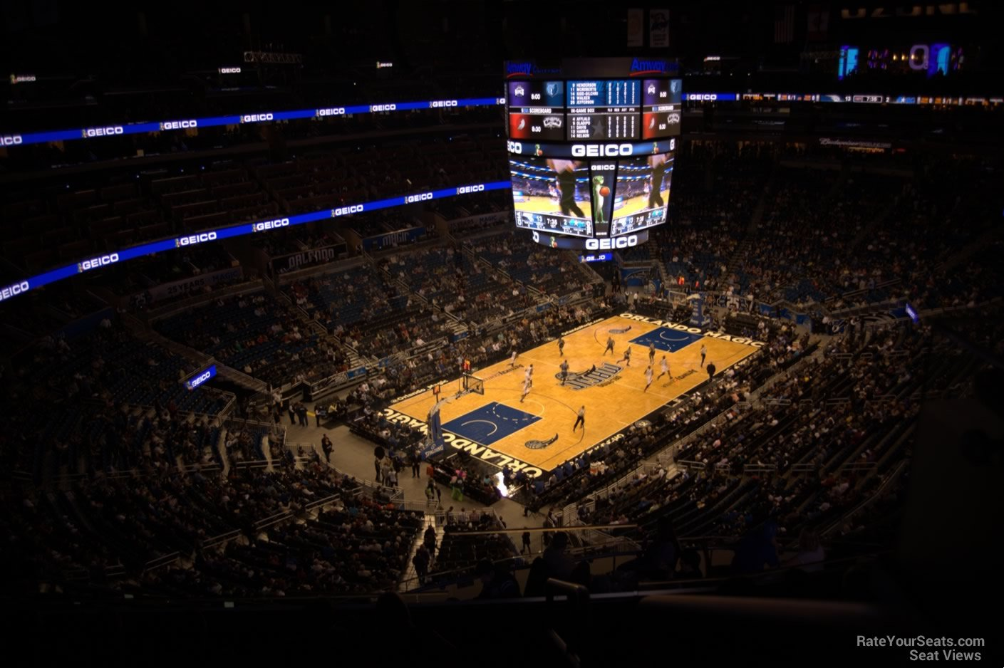 Seat View for Amway Center Section 214