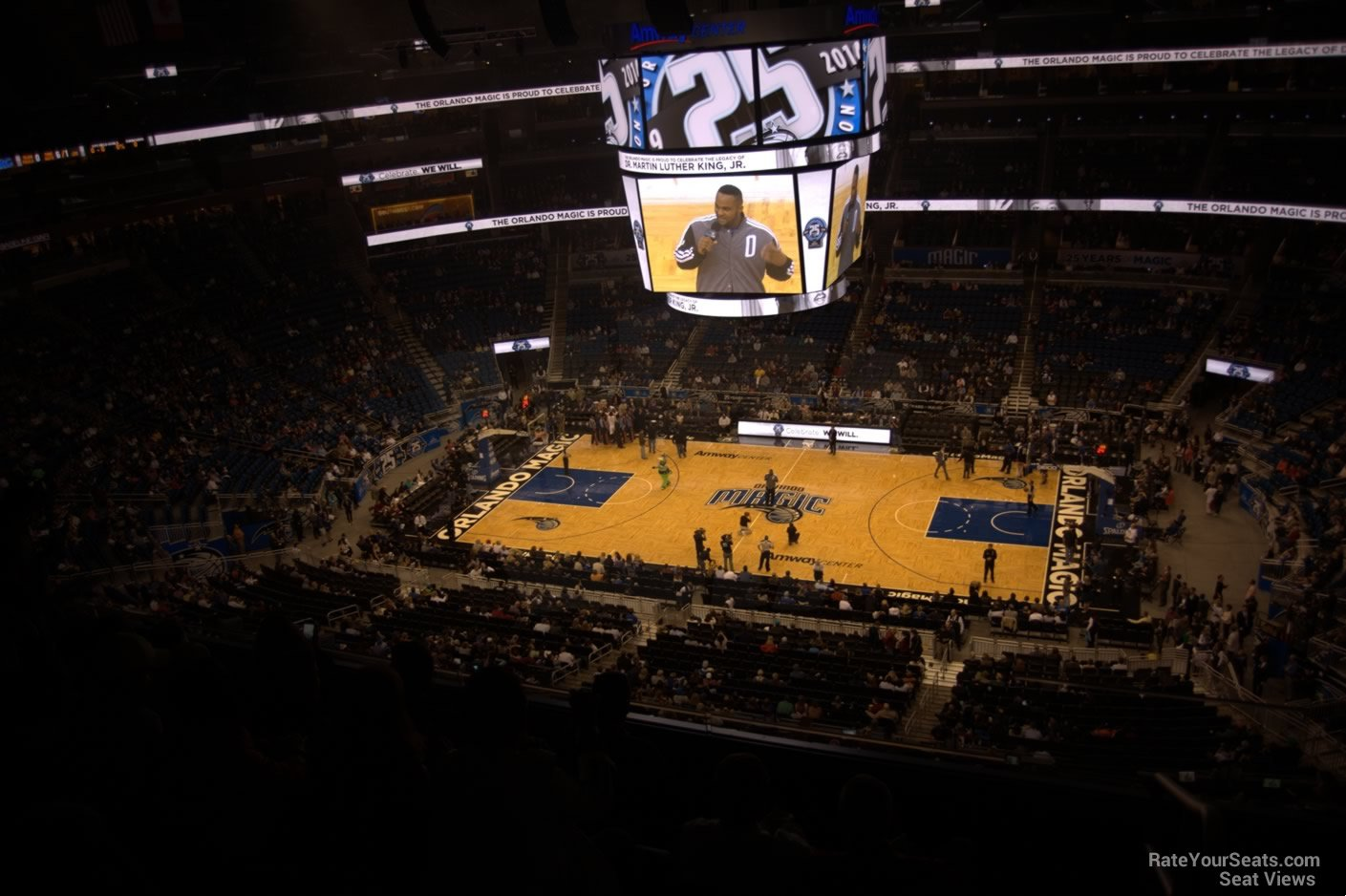 Seat View for Amway Center Section 224