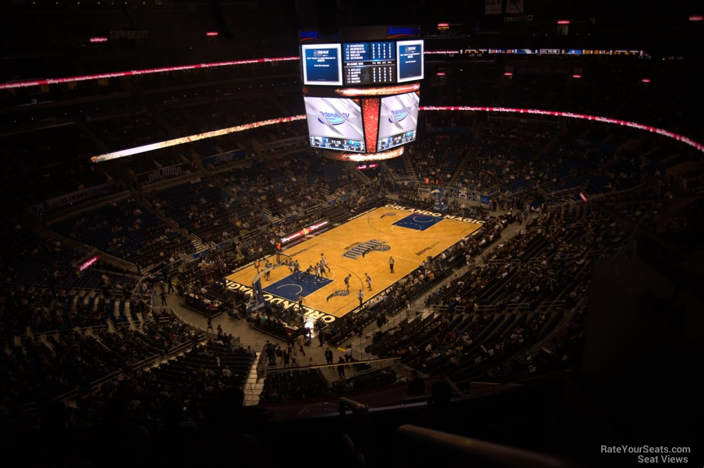 Seat View for Amway Center Section 230