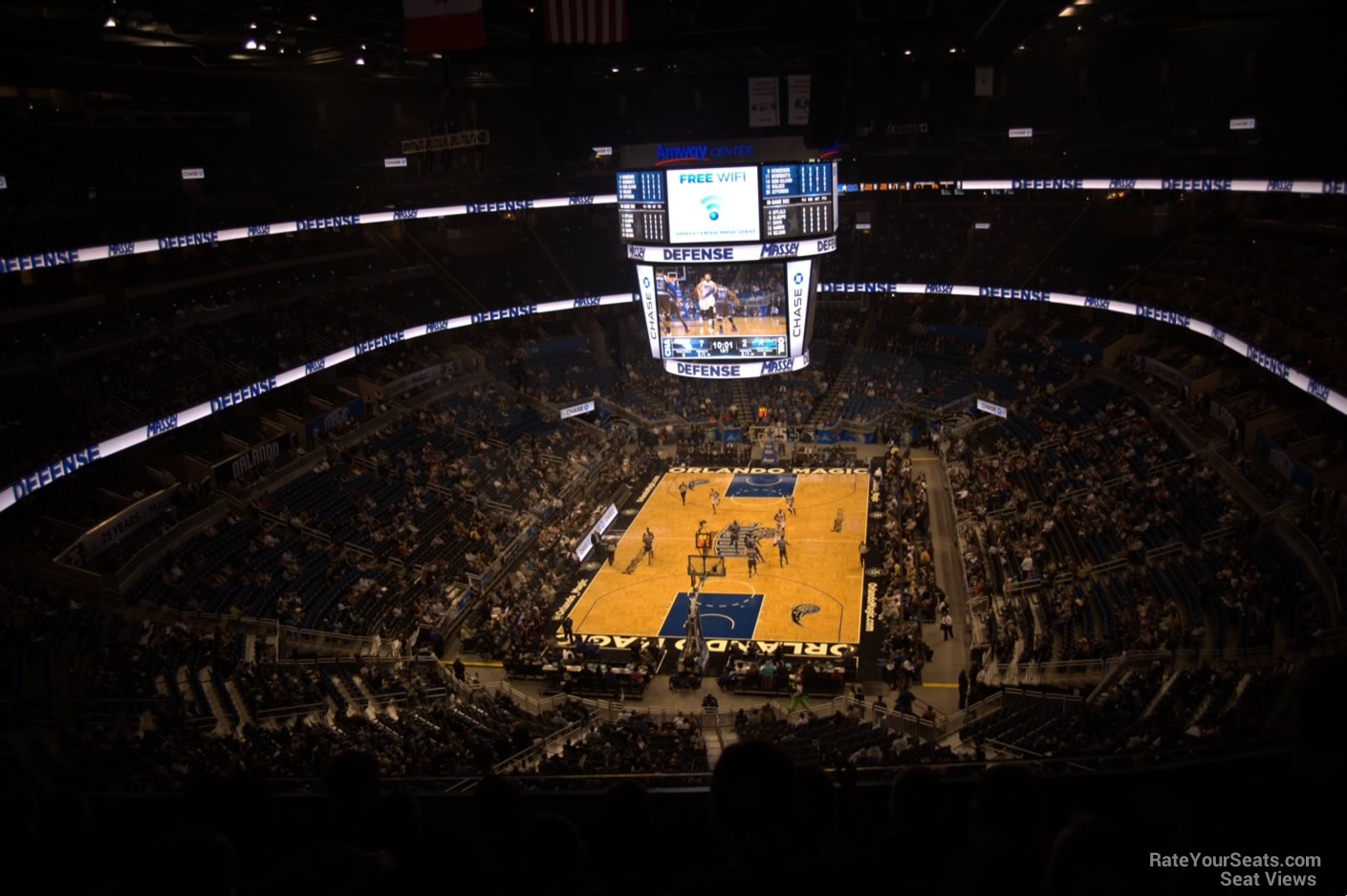 Seat View for Amway Center Section 232