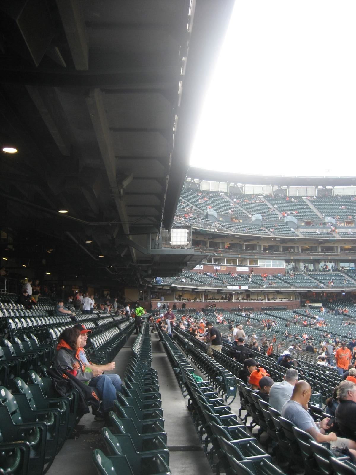 Lower Level Cover ATT Park