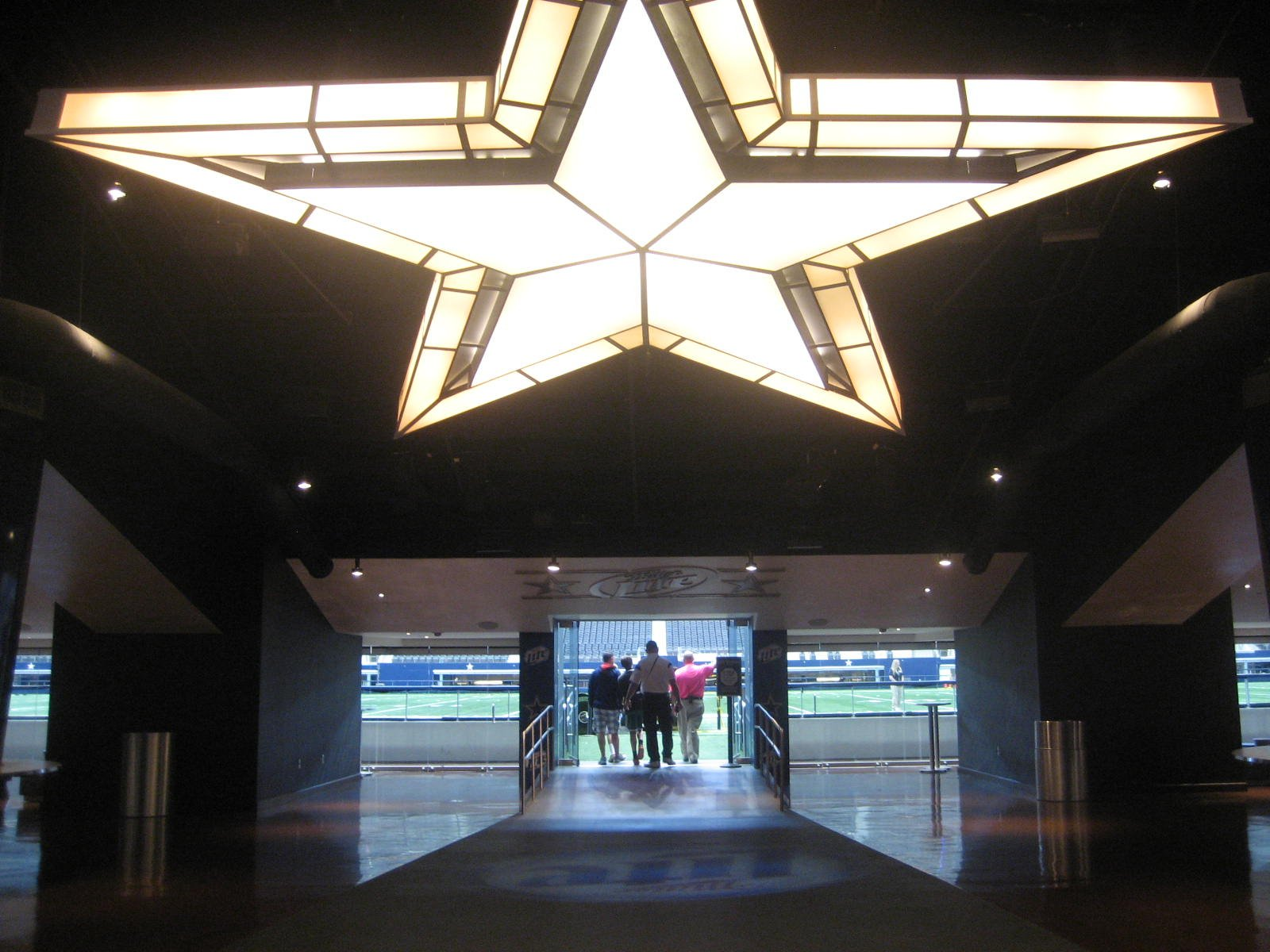 At t stadium section c214 dallas cowboys for Dining at t stadium