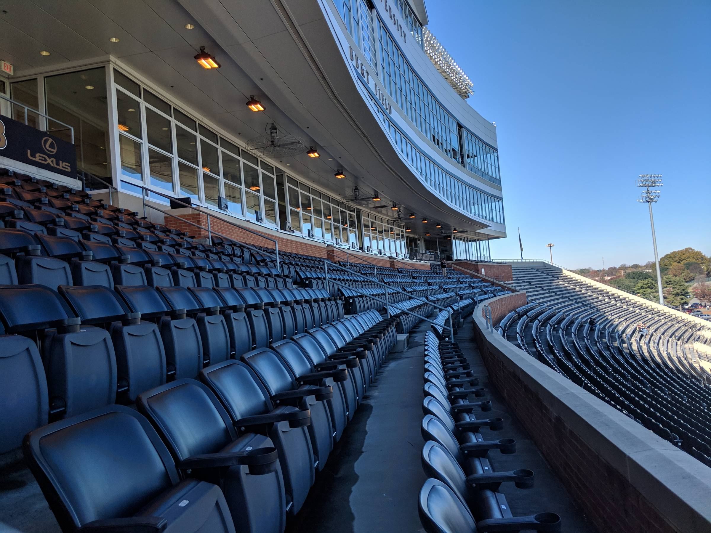 Mcreary Tower Seats at BBT Field