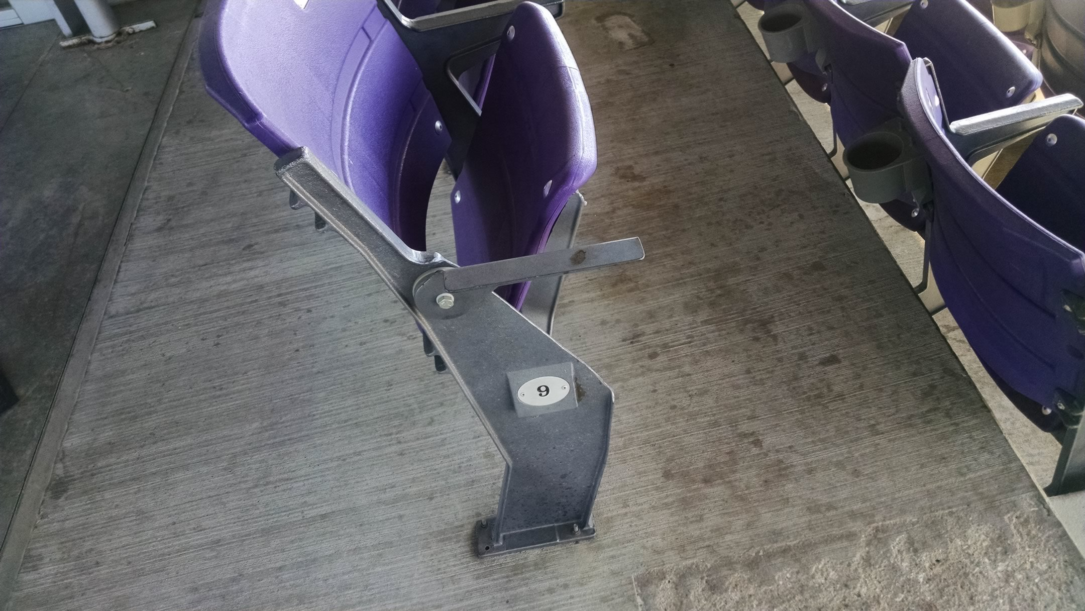 club level chairback