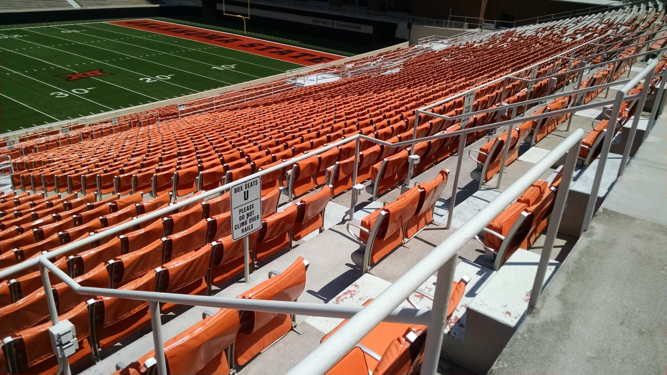 At The Top Of Select 200 Level Sections Along Sidelines Are Box Seats In Addition To Some Best Elevated Views These Areas Provide Fans Extra