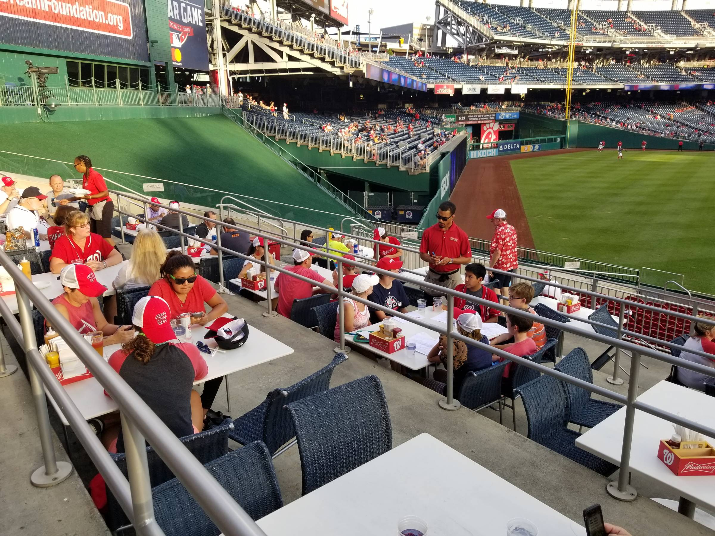 Nationals Park Seating For Nationals Games Rateyourseats Com