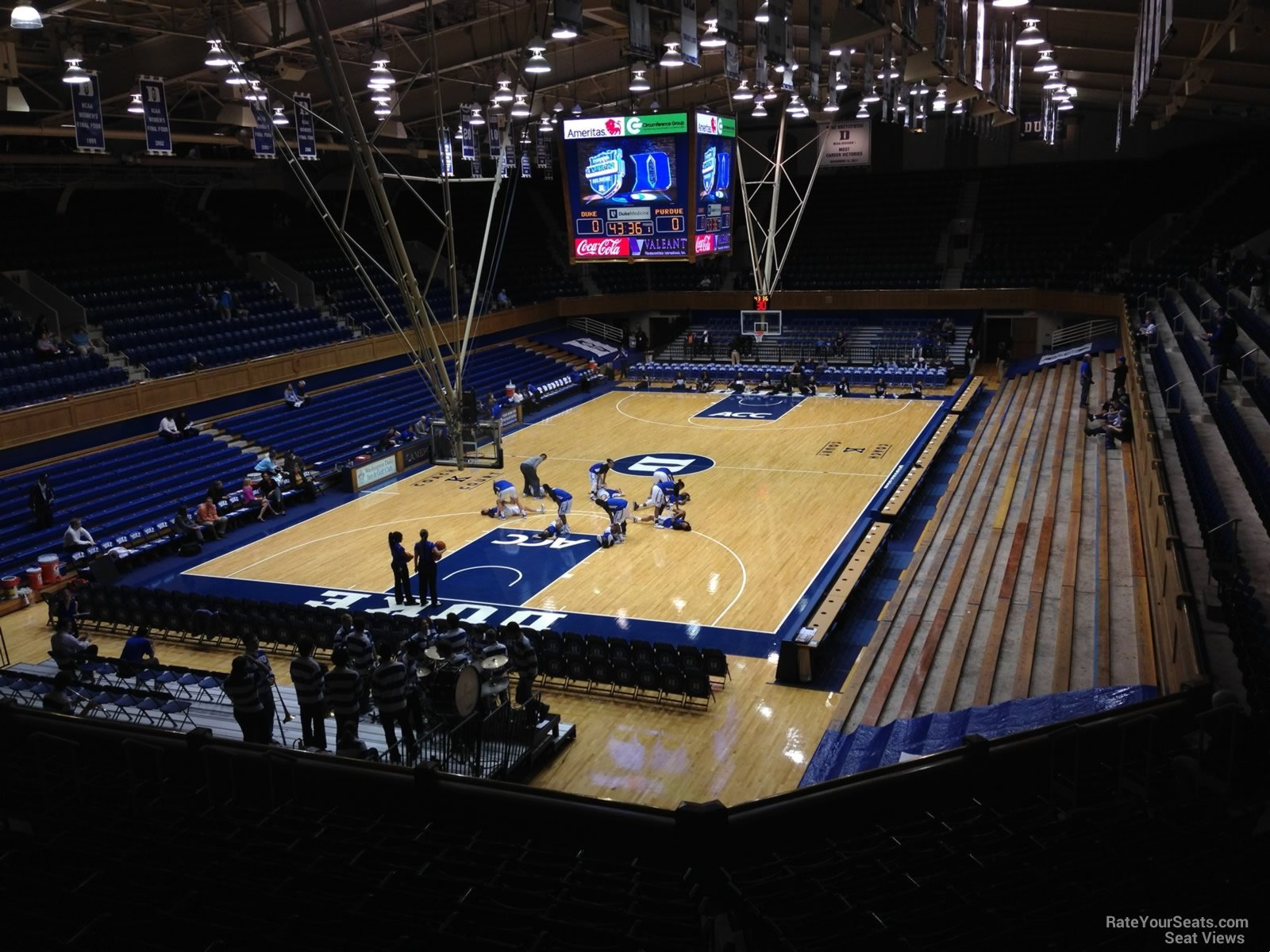 Cameron Indoor Stadium Section 11 Rateyourseats Com