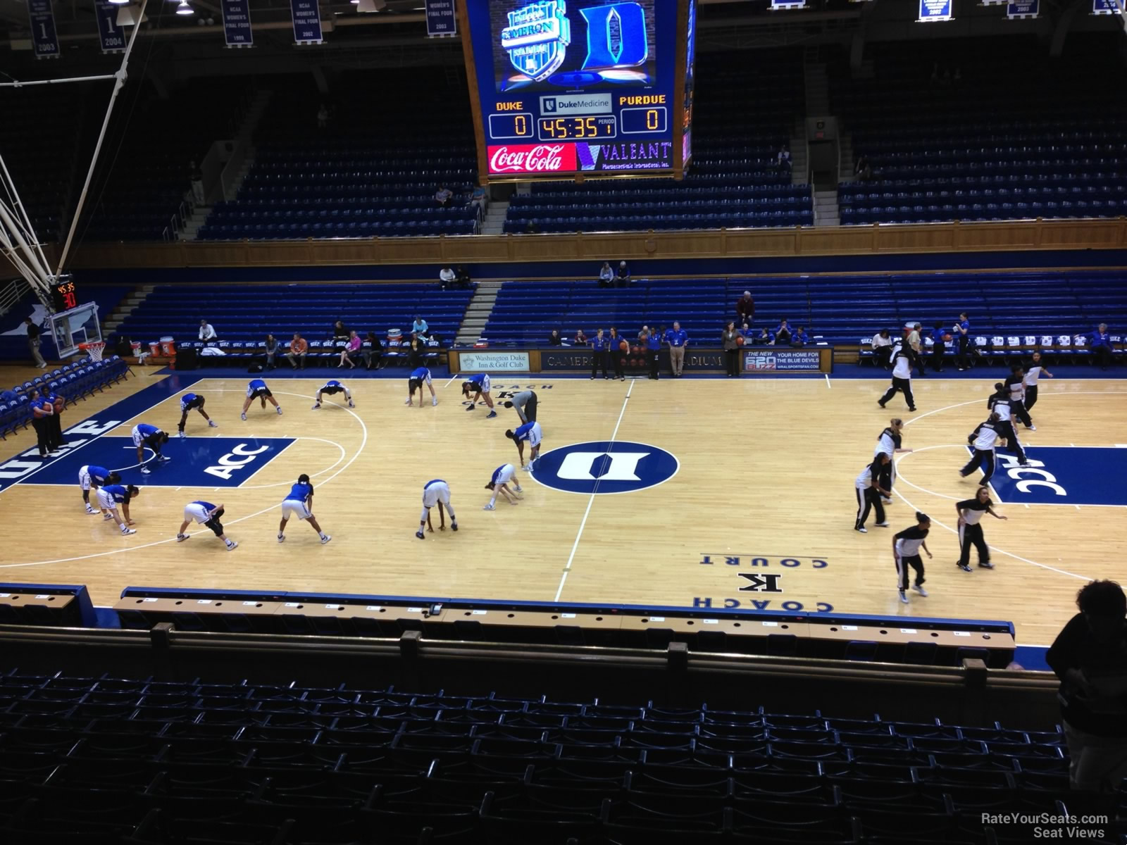 Cameron Indoor Stadium Section 15 Rateyourseats Com