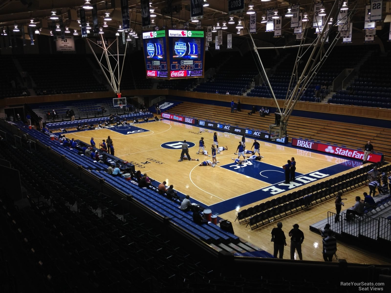 Cameron Indoor Stadium Section 9 Rateyourseats Com